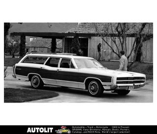 1969 Ford Country Squire Station Wagon Factory Photo