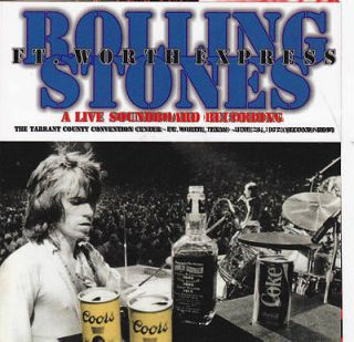 The Rolling Stones A Live Soundboard ft Worth Express Texas USA 1972