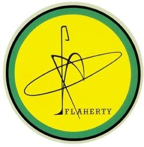 Flaherty Surfboards Vintage Style Surfing Travel Decal
