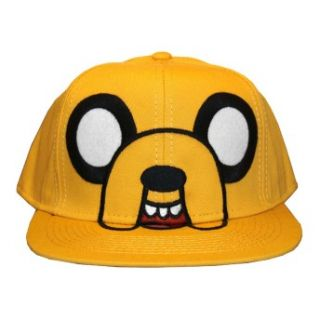 Adventure Time Jake Face Adult Adjustable Flat Bill Hat
