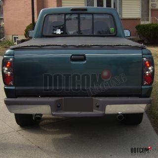 93 97 Ford Ranger Smoke altezza Tail Lights Rear Lamps