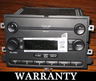 Ford Truck F150  Disc Indash CD Player Changer Radio