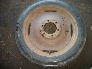 1950 Ford 8N Tractor Front Tire Wheel