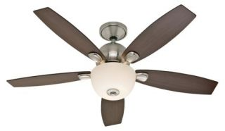 Hunter Skyline 52 Ceiling Fan Model 28704 in Brushed Nickel with