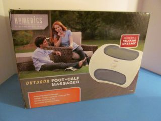 HOMEDICS OUTDOOR FOOT + CALF MASSAGER NIB ODF 100