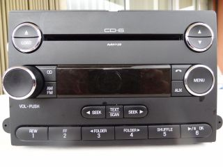 08 2008 FORD Edge LINCOLN MKX Radio  6 Disc CD Changer Player 8T4T