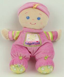 Fisher Price Pink Babys First Doll Plush Baby Doll Toy