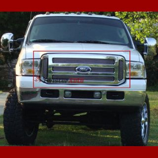Billet Grille Insert 2005 Ford F 450 Front Grill Upper Aluminum
