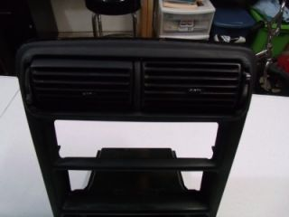 ford mustang gt dash radio bezel vents oem