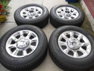 20 Factory Ford F250 F350 Wheels and Tires 17 18
