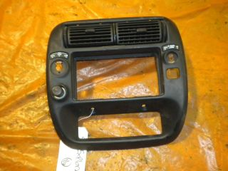 1995 2001 FORD EXPLORER BEZEL DASH RADIO CLIMATE CONTROL 4WD