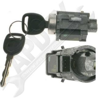 APDTY Ignition Lock Cylinder & Passlock Chip w/New Keys (Fixes