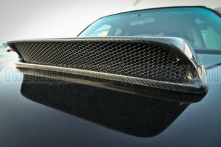 Carbon Fiber Subaru 2003 2005 Forester Turbo JDM Hood Scoop Intake