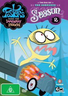 Fosters Home for Imaginary Friends Season 2 DVD