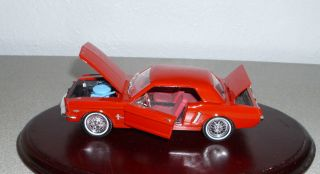 1964 Ford Mustang Vintage Vintage Classic Diecast Car 1 32 Scale