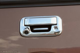 04 2012 Ford F150 08 2012 Super Duty Chrome Tailgate Handle Cover 2pcs