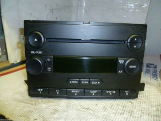05 06 Ford Freestyle Five Hundred Radio CD Player 6F9T 18C869 BC