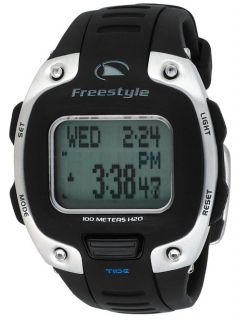 Digital Mens Freestyle Tide 3 0 New Watch Black Rubber Band