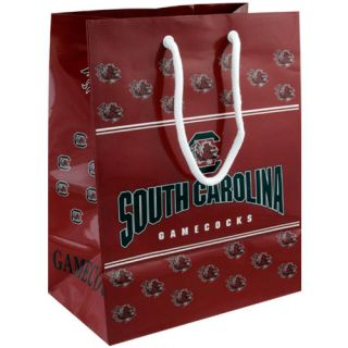 South Carolina Gamecocks Garnet Team Logo Gift Bag