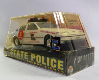 Funrise State Police Series Louisiana State Trooper Police Car