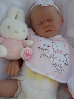 Baby Sunshine Nursery Reborn Girl Doll Paige by Sandra White Limited