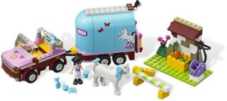 AUGUST 2012 LEGO FRIENDS 3186 EMMAS HORSE TRAILER *NIB, NEW LEGO FOR