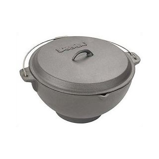 Classic 2.75 Gallon Cast Iron Deep Fryer/Jambalaya Pot BAY K1000199