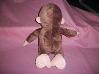 APPLAUSE CURIOUS GEORGE 15 TALL SOFT STUFFED / PLUSH MONKEY DOLL