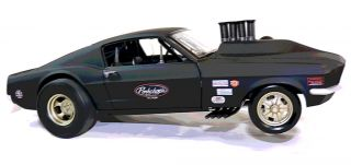 Sheep Pork Chop 1969 Ford Mustang Gasser Hot Rod 427 Halibrand
