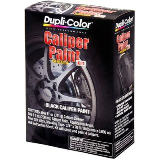 Dupli Color BCP402 Brake Caliper Black Brush Paint Kit