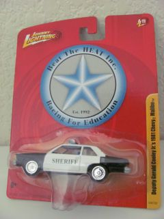 Johnny Lightning Deputy Gerald Cooley 1981 Chevy Malibu