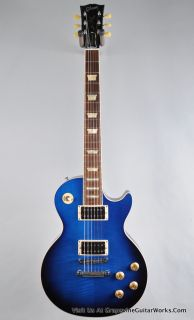 Gibson USA Les Paul Classic Electric Guitar Manhattan Midnight