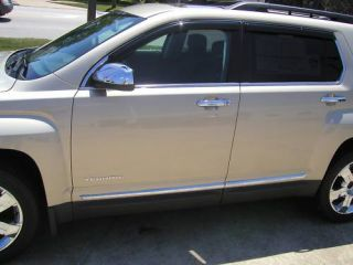 GMC Terrain Chrome Body Side Mouldings Trim 2010 2011