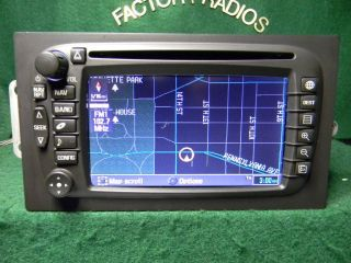 GM CHEVY CADILLAC NAVIGATION DVD RADIO 15108421 none LUX 30 days