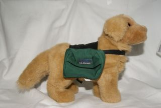 Stuffed Toy L L Bean Golden Retriever Dog