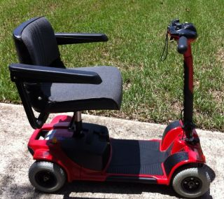 Pride Mobility Go Go Travel Scooter 4 Wheel Red