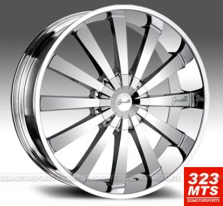 NAVIGATOR 28 GIANELLE SANTORINI FORD EXPEDITION (BLANK) CHROME RIMS