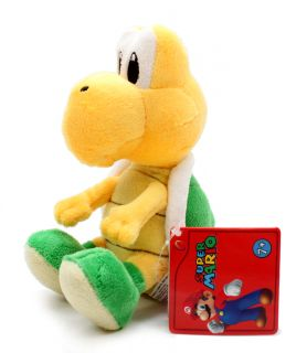 Authentic New Global Holdings Super Mario Plush 5 Koopa Troopa Noko