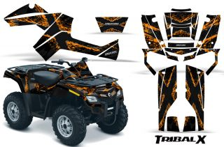 Outlander 500 650 800R 1000 Graphics Kit Decals Stickers Txob