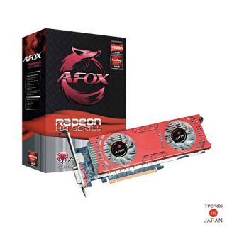 6850 GDDR5 Afox AF6850 Graphics Card Low Profile Dual Fan Japan