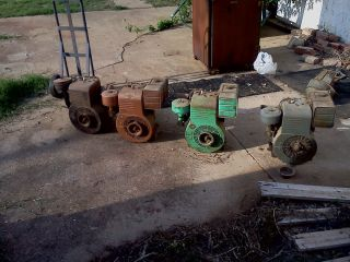 Briggs and Stratton 10 HP Motors