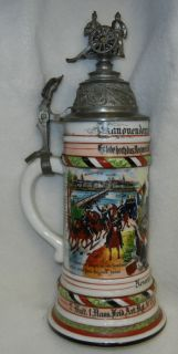 Superb Original WW1 Vintage Imperial German Army Artillery Regimental
