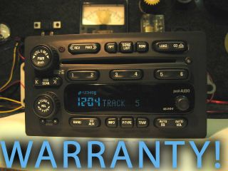 CHEVY GM GMC 6 CD DISC CHANGER RADIO YUKON TAHOE SIERRA SILVERADO 03