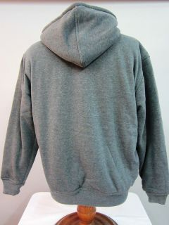 Hoody Sweatshirt with Sherpa Lining by Gioberti Black Grey or Charcoal