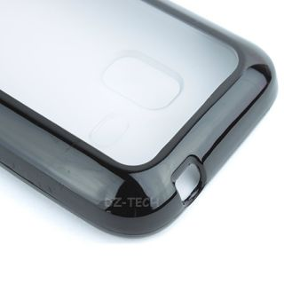 BK Clear Hard Gel Hybrid TPU Candy Case Cover For Samsung Galaxy