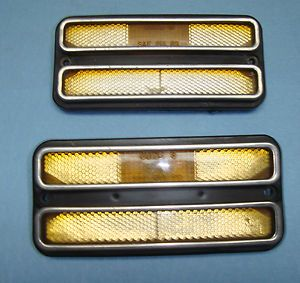 Chevy Truck Deluxe Side Marker GMC Blazer Jimmy Suburban 4x4 Lights