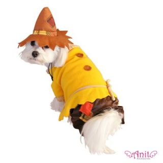 Anit Accessories Scarecrow Dog Costume