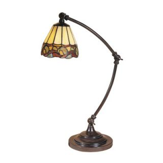 Dale Tiffany Ainsley 1 Light Desk Lamp