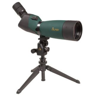 Alpen Outdoor 20 60x80 Waterproof Spotting Scope with 45 Degree Eye