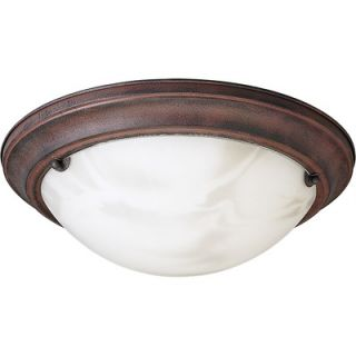 Progress Lighting Eclipse 2 Light Flush Mount   P7315 33EBWB